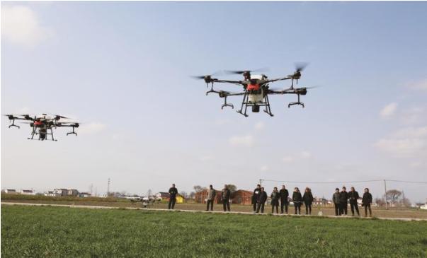 农用植保无人机操作培训